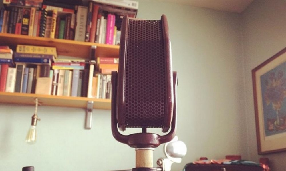 Amperite RAH  ribbon mic, made in NYC 1935