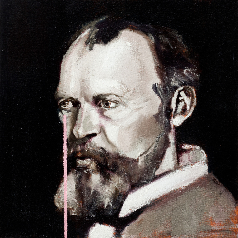 William James, Oil on canvas, 30x40 cm, 2013