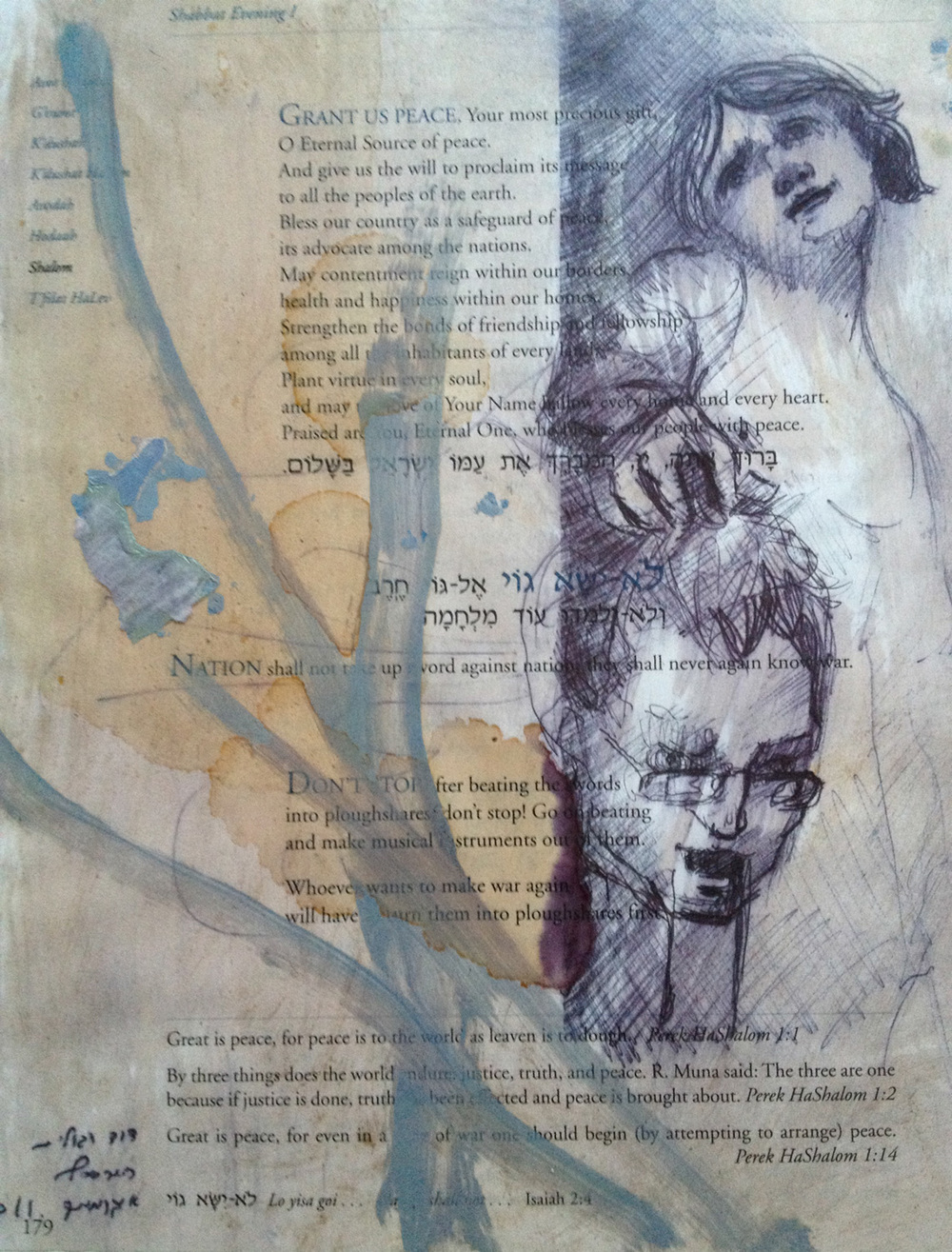 Untitled, Mixed media on paper, 20X30 cm, 2011