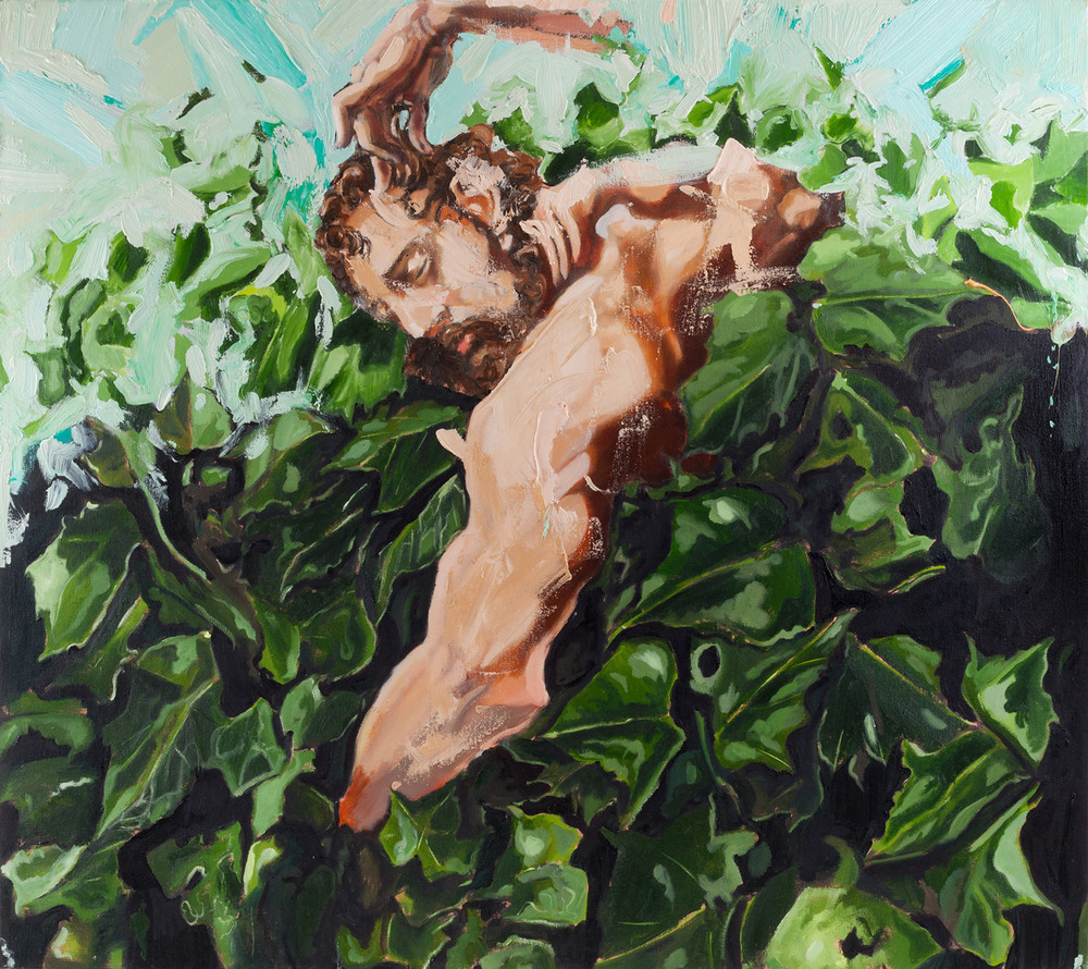 Ivy Samson II, Oil on canvas, 80x90 cm, 2013
