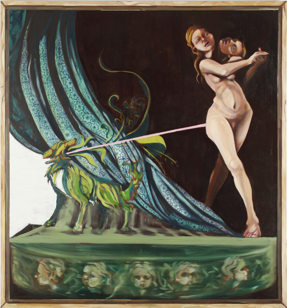 Jezebel II, Oil on Canvas, 170x170 cm, 2012