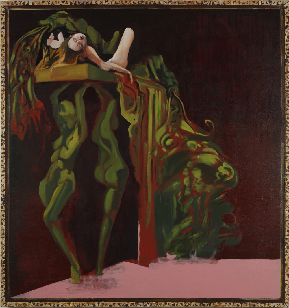 Jezebel III, Oil on Canvas, 170x170 cm, 2012
