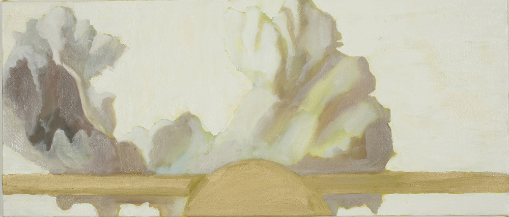 Ruisdael Clouds II, Oil on canvas, 20x60 cm, 2008