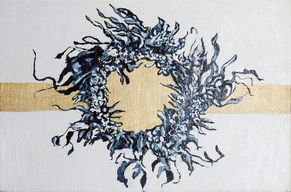 Wreath V, Oil on canvas, 20x30cm, 2008
