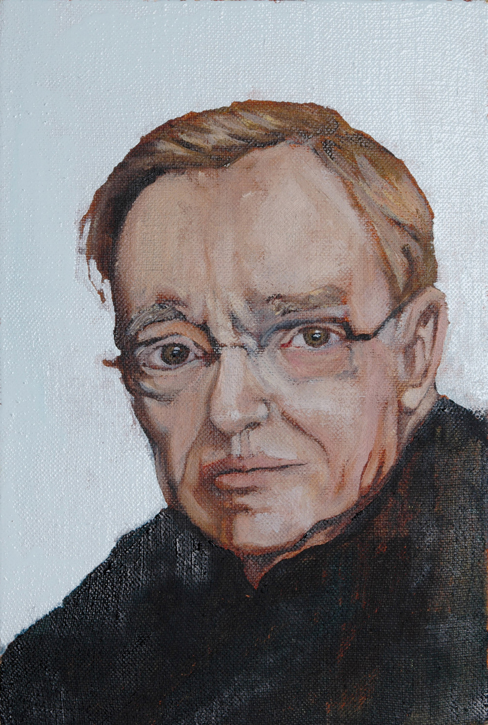 Portrait of David Grossman, Oil on canvas, 20X30 cm, 13.8.2006