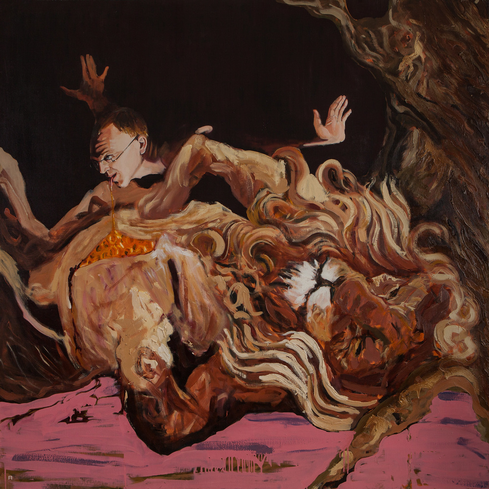Samson II, Oil on Canvas, 170x170 cm, 2013