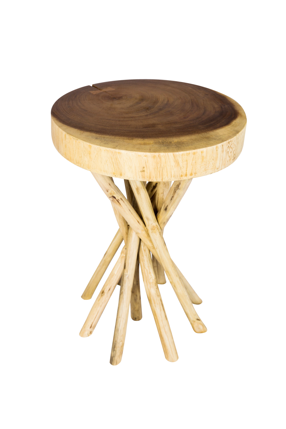 Twisted Branch Side Table