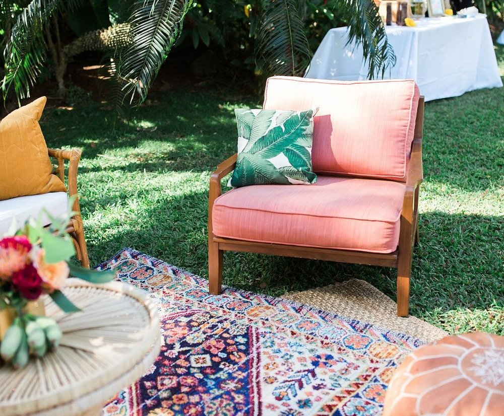 Coral Halekulani Chair  Photo by Jenny Quicksall