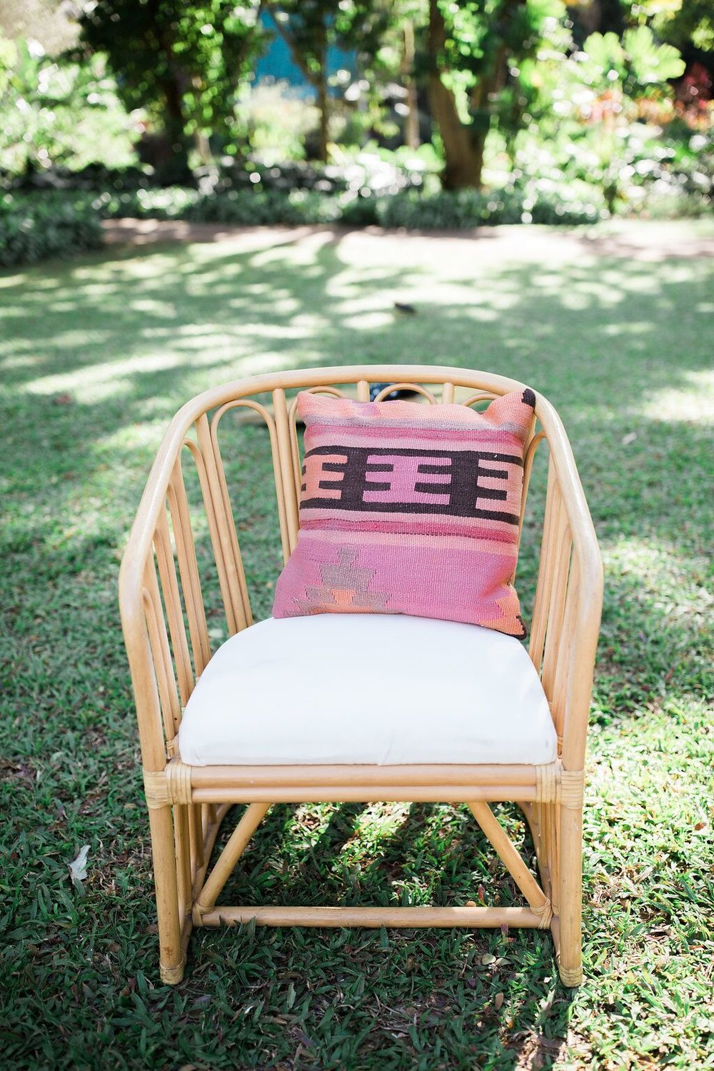 Rattan Chair  photo by Jenny Quicksall