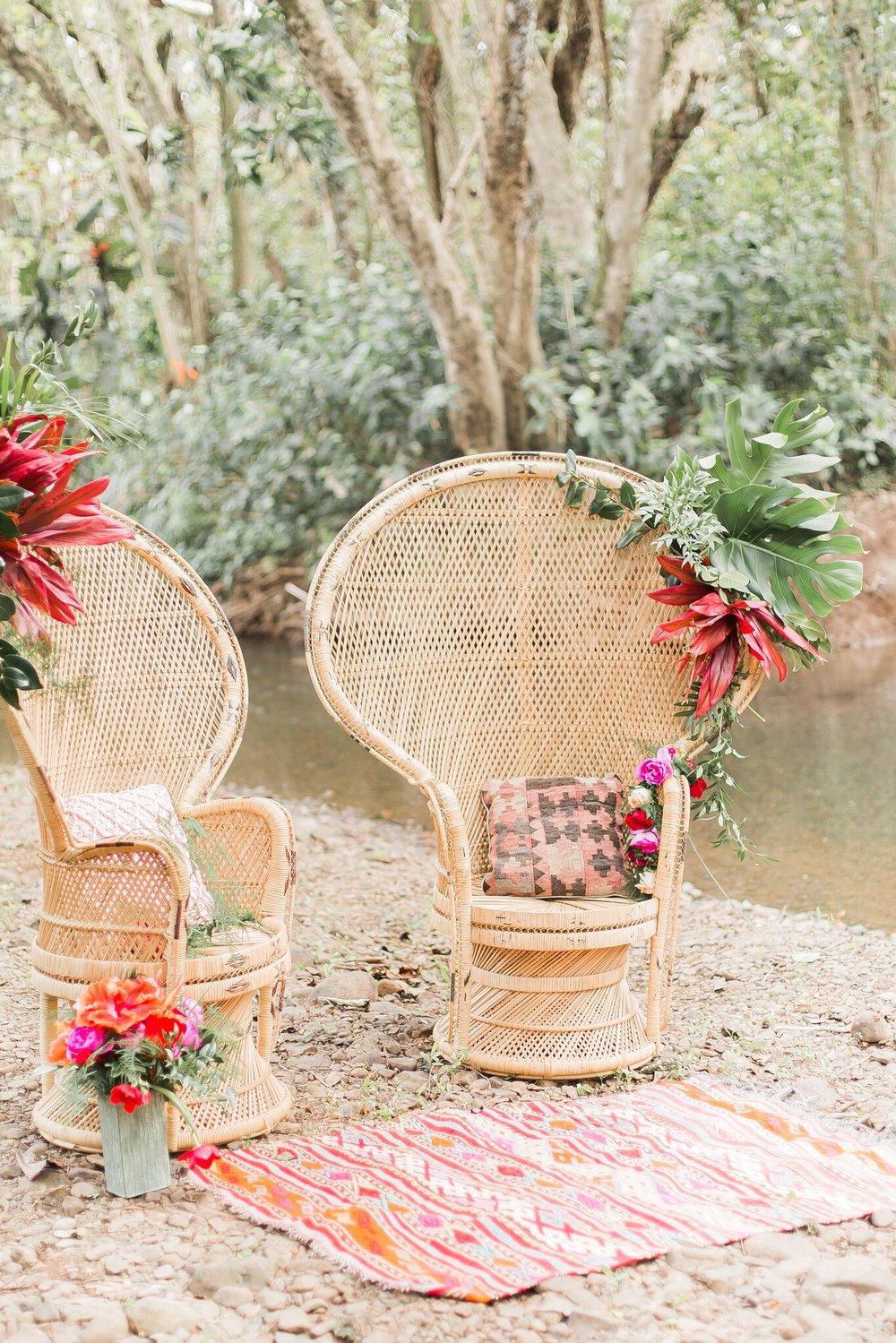 King Kamehameha Chair  photo by Betty Globa