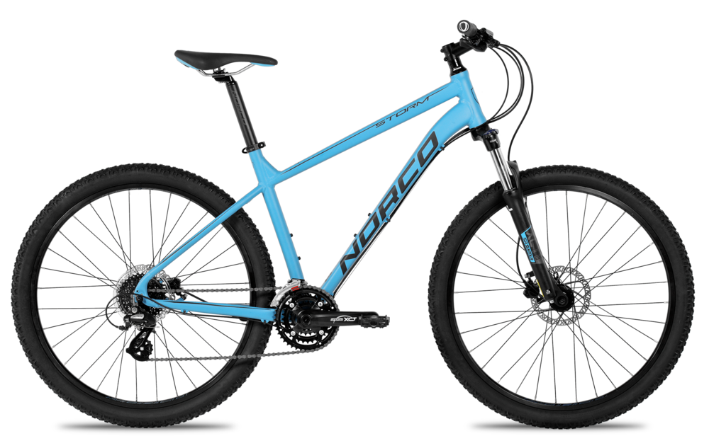 All we need to say is this - hydraulic disc brakes and a lockout fork at $555. Need more? It also come in a ladies model.
