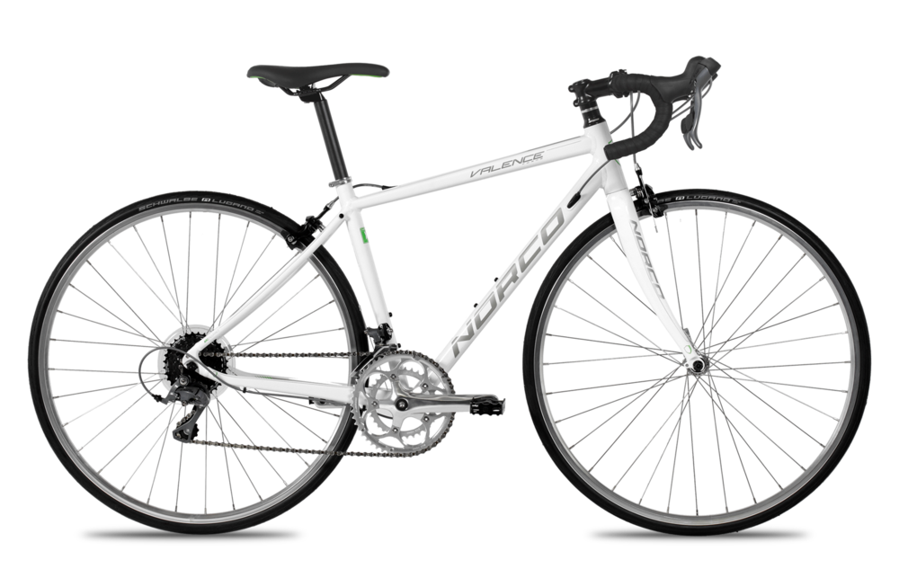 The Valence Claris and Valence Claric Forma. At $695 the best deal on an entry-level road bike. Alloy frame and carbon fork, plus 8 speed Shimano Claris components.