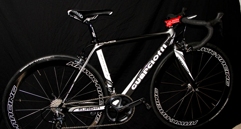 Guerciotti Eureka Evo Small $1200 - Ridden by Scottie Weiss for the year. This does not include the carbon wheels in the pic. It has Alto alloy wheels, full Ultegra. A lot of miles left on this bike. New would cost $4500+