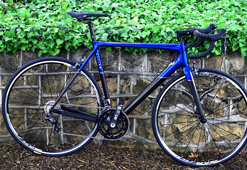 Allied Alpha Ultegra 56cm $2800 - Ridden once, this awesome mad in the US bike is a stock kit from Allied. This is the most sought-after bike in the US. Blue horizon paint. $4000 new.
