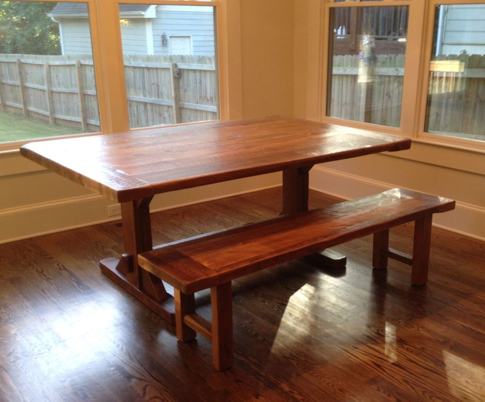 48inch Trestle tablel with CrossPlank Bench.jpg