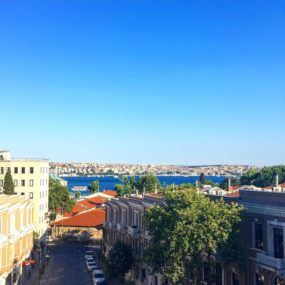 An incredible view from W Istanbul (PHOTO: Katie Cline)