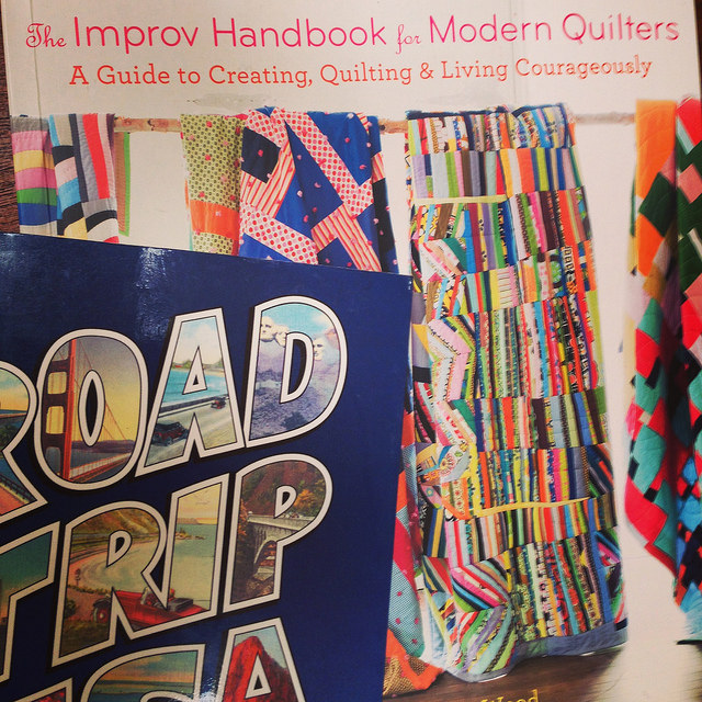 impov handbook for modern quilters road trip book tour