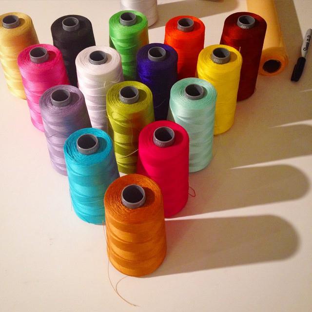 Improv Handbook Aurifil thread colors