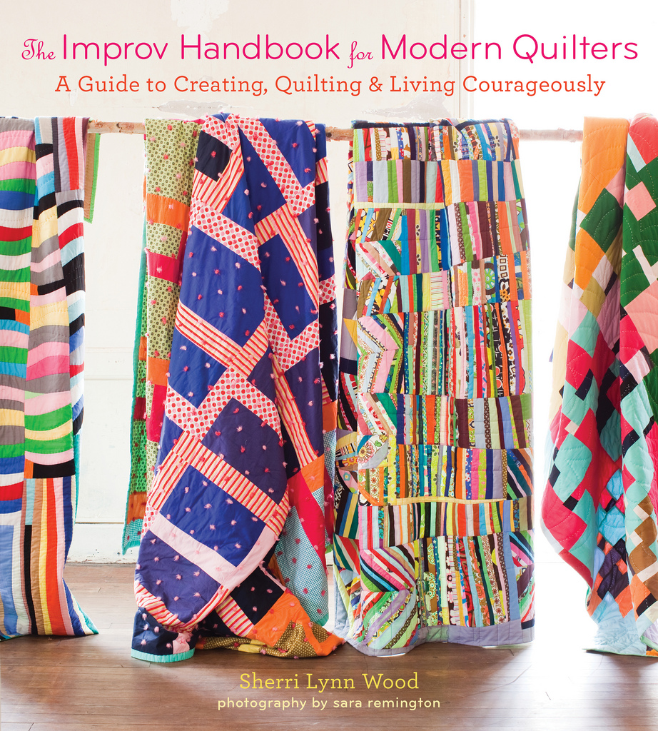 The Improv Handbook For Modern Quilters cover