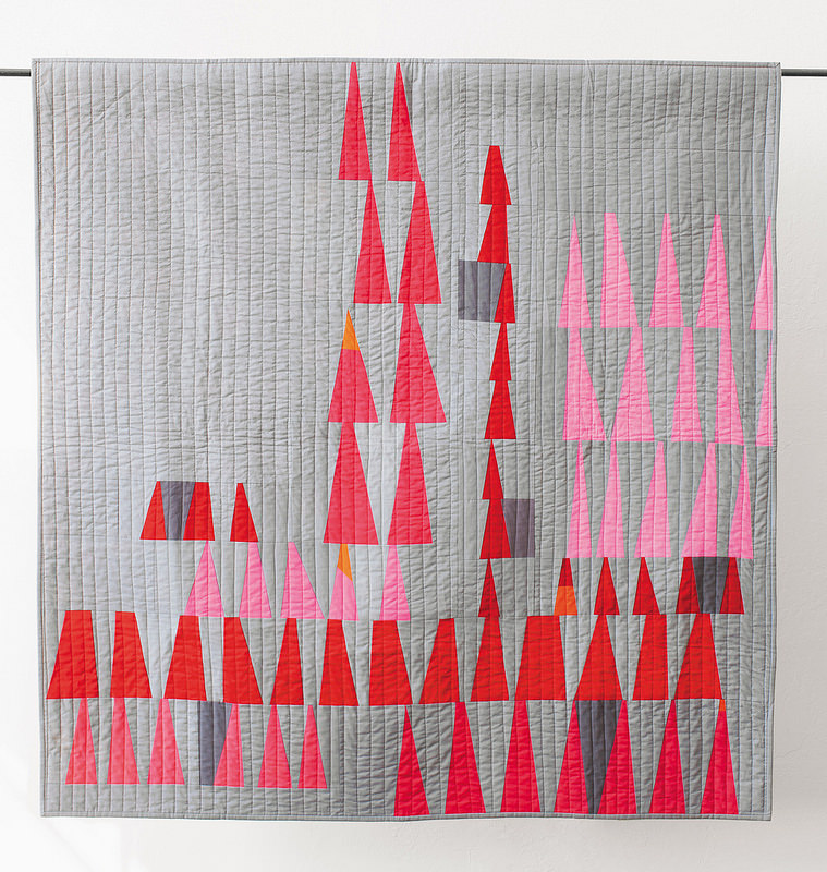 Test Quilt by Mina Kennison featured in The Improv Handbook For Modern Quilters