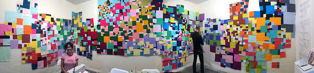 Sherri Lynn Wood - Sew LeWitt - Adobe Books San Francisco