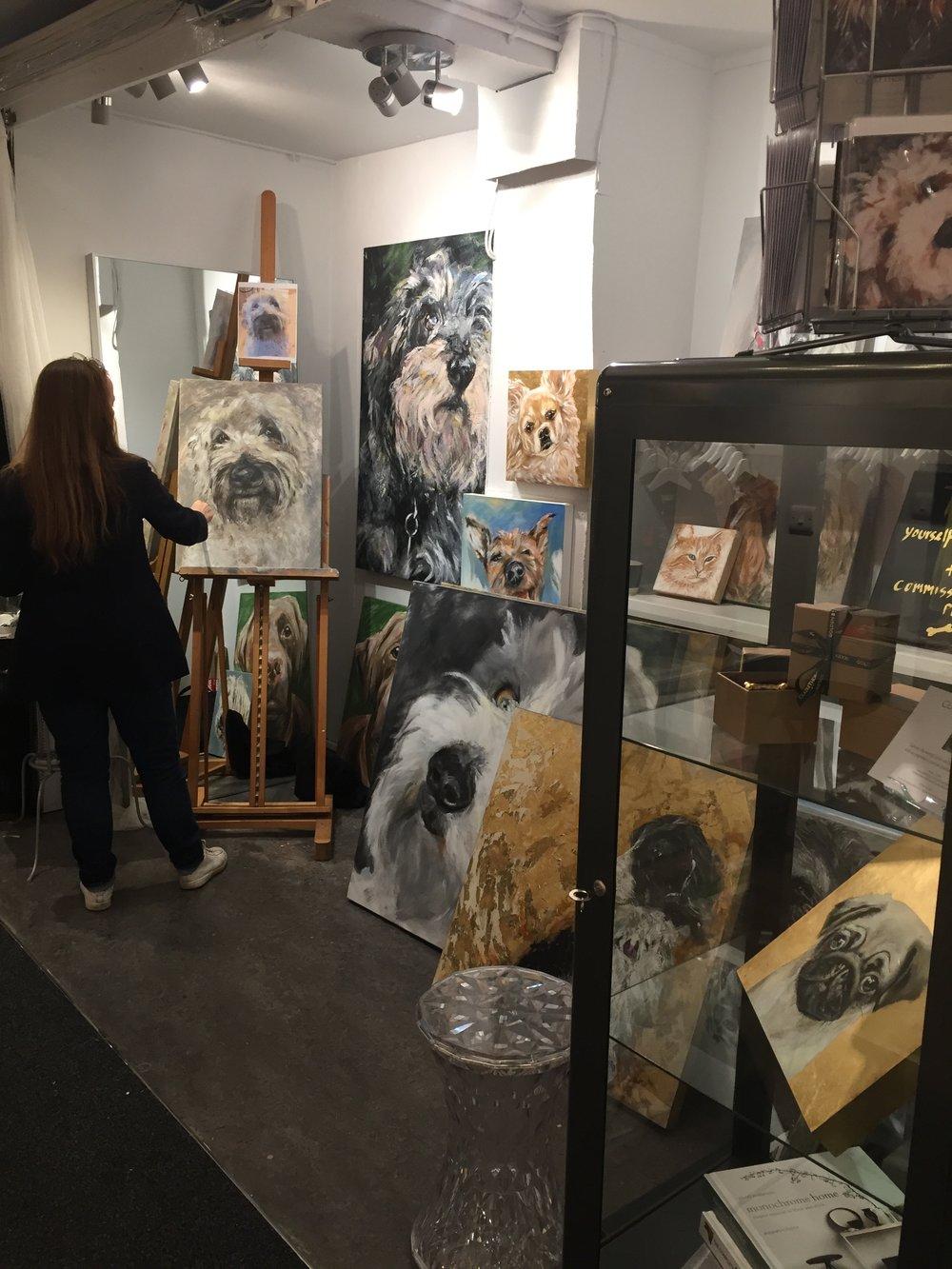 Claire Thorogood Art Studio