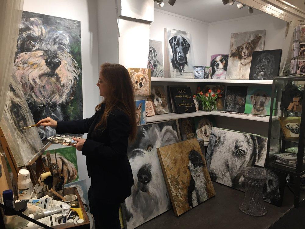 Claire Thorogood Art Studio/gallery