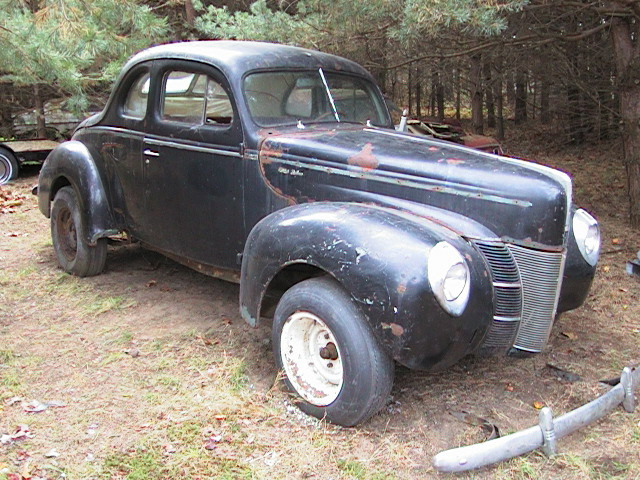 1940 Ford Deluxe Coupe Patterson Coachworks