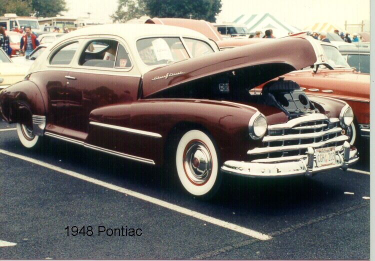 1948 Pontiac 2807-D Sedan Coupe-    1st Junior Hershey 1990