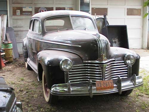 1941 Pontiac Two-Door Sedan
