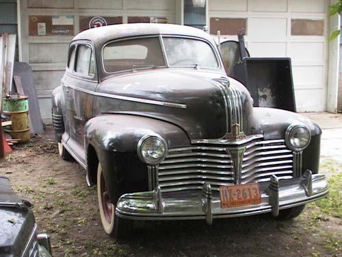1941 Pontiac Two-Door Sedan