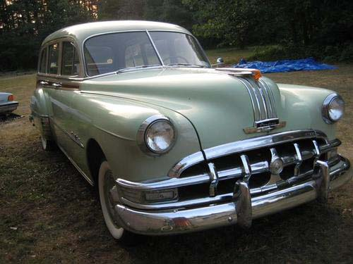 1950 Pontiac Streamliner Stationwagon