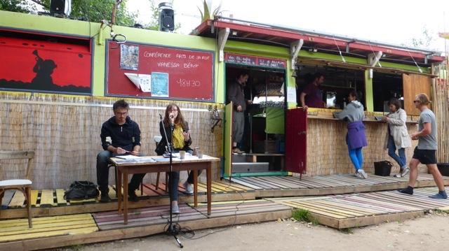 La conférence Vanessa Bérot à Baule