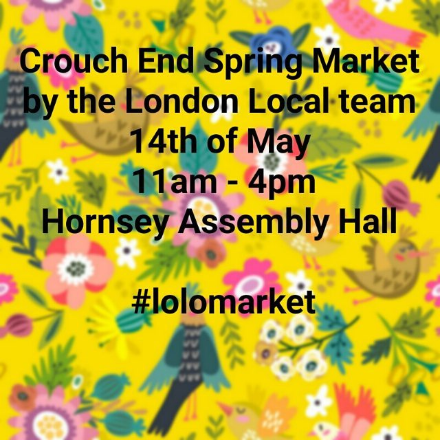 So excited for the #lolomarket in #crouchend @hthartscenter  Less than two weeks to go!! Come check out some locally designed and produced products and meet the faces behind the brands @etsyuk Design by @madebyaiza #londonlocalteam #independentdesigner #designermaker #shoplocal #localmarket #handmade #London #londonmarket #etsysellers #supportlocal #supportsmallbusiness