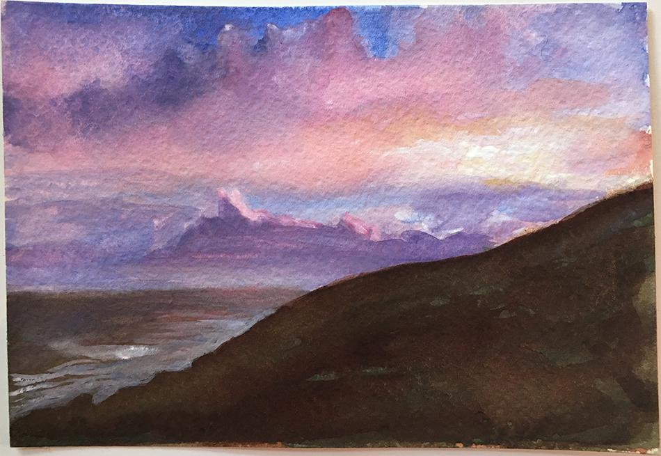 Sunset over Bolus