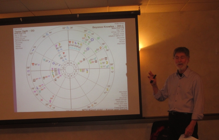 David speaking at the Seacoast Astrological Association, Portsmouth, NH,  April 12, 2016