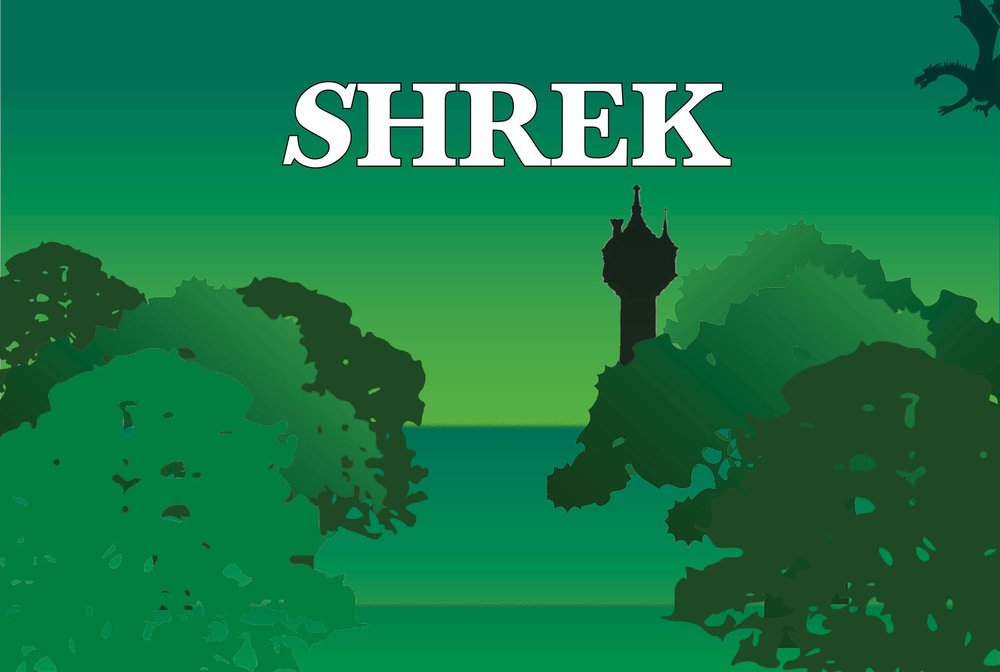 Based on the Dreamworks Animation Motion Picture and the book by William Steig.  SHREK THE MUSICAL  is presented through special arrangement with Music Theater International (MTI). All authorzied performance materials are also supplied by MTI.