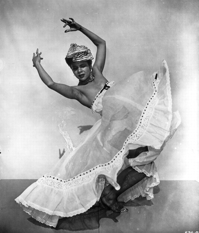 Katherine Dunham (1938), founder of The Katherine Dunham Center for the Performing Arts and a pioneer in African American dance.