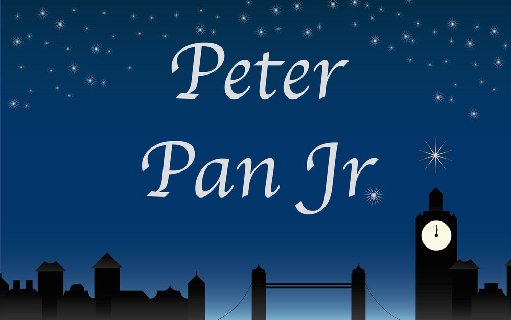 A Musical Based on the Play by Sir J.M. BARRIE.  Peter Pan Jr . is presented through special arrangement with Music Theater International (MTI). All authorzied performance materials are also supplied by MTI.