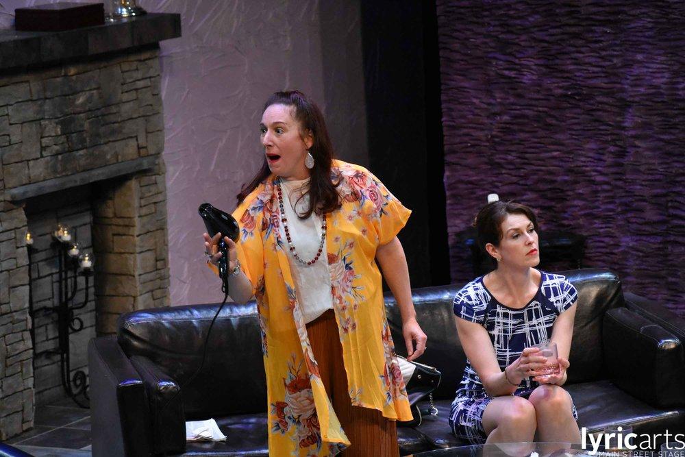 Katie Wodele in  God of Carnage  at Lyric Arts