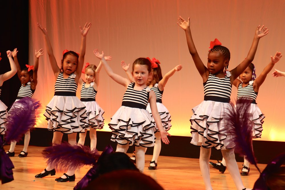 Explore Classes for Developing Artists - Developing classes are geared for early performing arts education for children ages 3-14. All classes perform in our Spring and Fall Showcases.