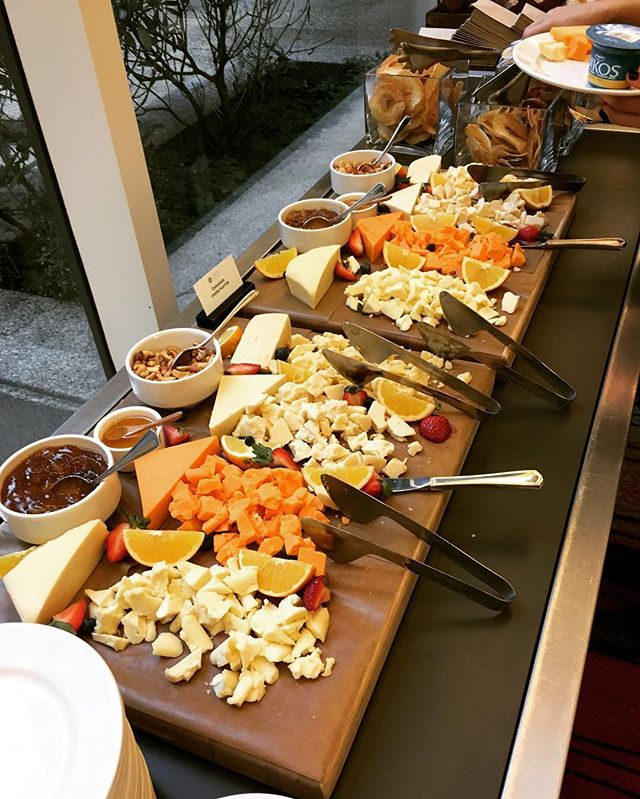 You know you're at a Dairy Symposium when... 🧀 #DFCsympo #nutrition #breakfast #dietitians #dairy #cheese #vancouver