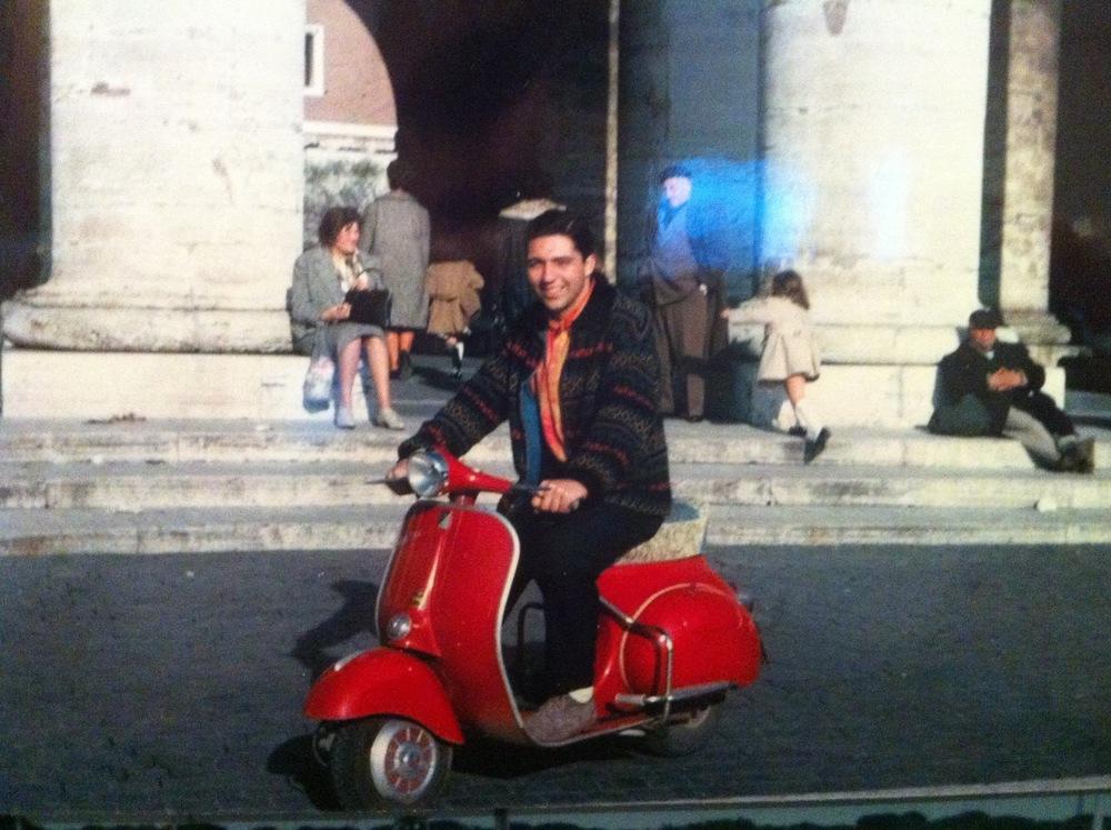 Dennis Farmer (aka Anthony J. Famighetti Jr.) - Rome Italy - 1964