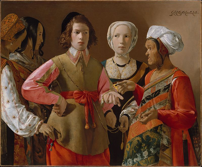 The Fortune Teller by Georges de la Tour