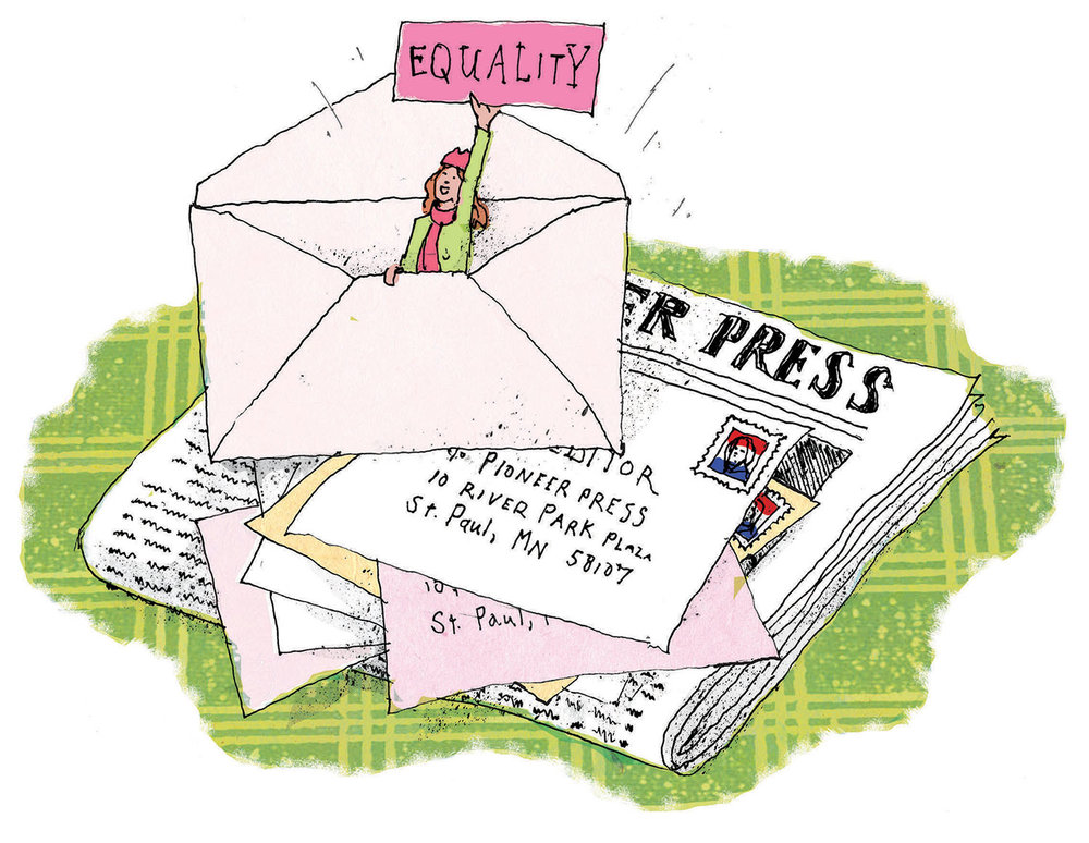Writing a letter to the editor of your local newspaper can help change people's minds