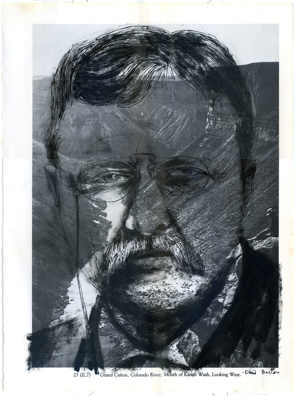 President Theodore Roosevelt, who was pivotal in creating the US National Park system