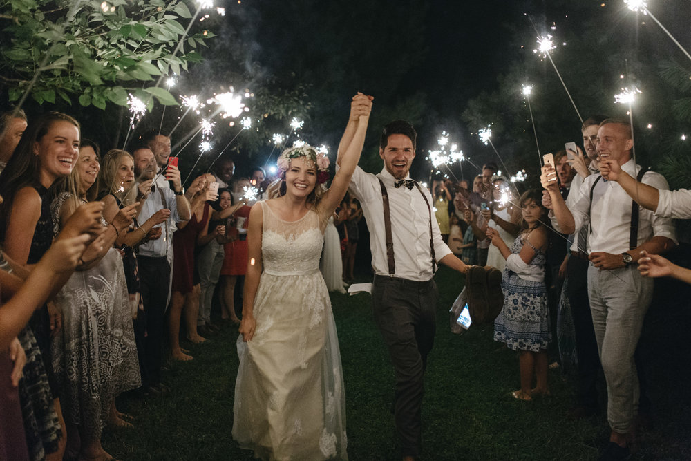 DIY Backyard Summer Wedding