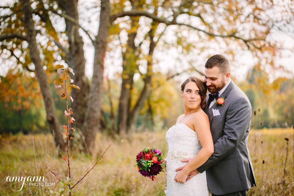 October Wedding Columbus Zoo