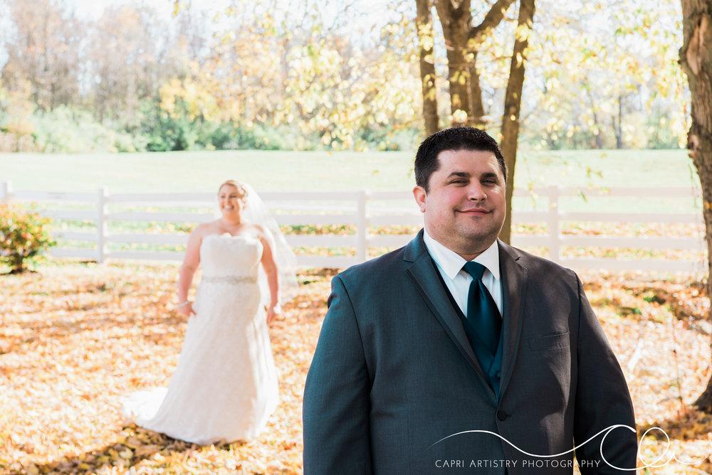 Fall Outdoor Ohio Wedding