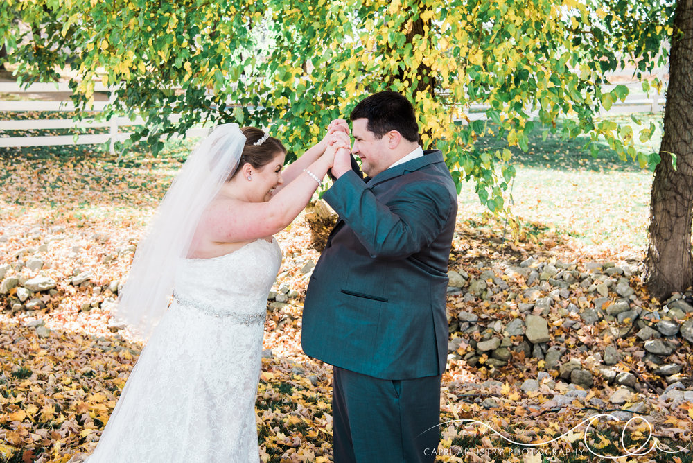 Fall Outdoor Ohio Wedding